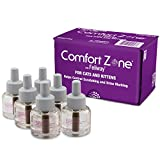 Comfort Zone Feliway Diffuser Refills, 6 Pack, For Cat Calming