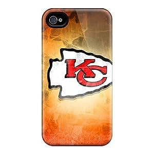 Iphone 6 QED16438DTbU Support Personal Customs Vivid Kansas City Chiefs Pattern Bumper Hard Phone Covers -JamieBratt