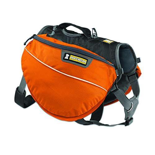 Image of Ruffwear Approach Dog Backpack, X-Small, Campfire Orange