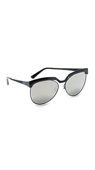f5484bdbfa Amazon.com  MCM Women s Cutout Mirrored Sunglasses