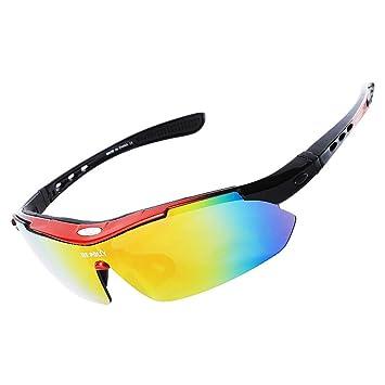 Montar Gafas Polarizadas Deportes Al Aire Libre Espejo De Escalada Ciclismo Pesca Corriendo Gafas De Sol