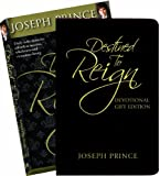 img - for By Joseph Prince Destined to Reign Devotional Gift Edition: Daily Reflections for Effortless Success, Wholeness, and (Gift) [Leather Bound] book / textbook / text book