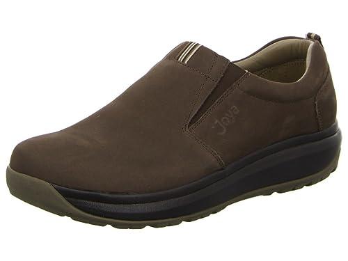 Joya - Mocasines de cuero nobuck para hombre, color marrón, talla 42.5: Amazon.es: Zapatos y complementos