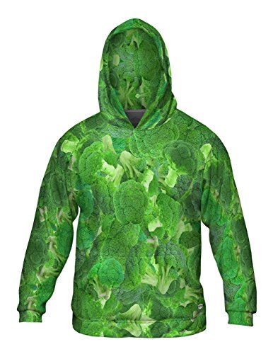 Yizzam- Broccoli -Allover Print - Mens Hoodie Sweater-4X