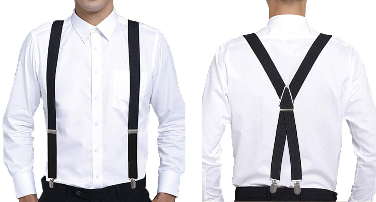 Universal Suspender Cinny 1 for Men and Women Polyester with Metal Clips