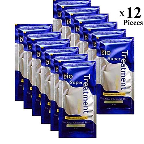 Repair Keratin Hair Mask Treatment Moisture Deep Conditioner Damaged Hair Ultimate Nourishment For Extremely Dry & Frizzy Color Treated Hydrating Beautiful Hair 12 Pieces (360ml)