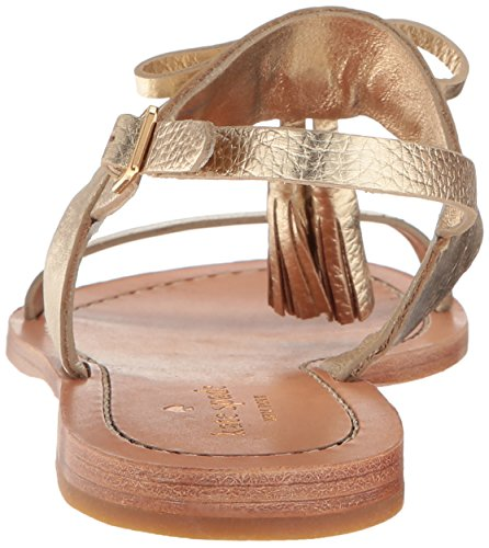 Kate Flat Gold Sandal Carlita Women's Spade Rv4rwqRPU