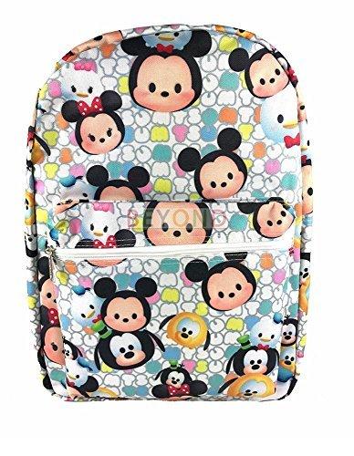 Disney Tsum Tsum Cute Mini Characters Backpack 16