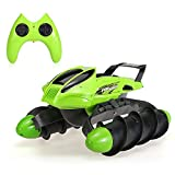 Flytec RC Car 2.4G Ready-To-Go Remote Controller Transmmitter Tank (Green)