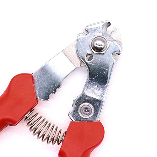 Rugjut Stainless Steel Bicycle Wire Rope Cable Cutter Bike Inner Outer Brake Gear Wire Cable Spoke Cutter Repair Tool by Rugjut (Image #3)