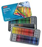 Derwent Pastels, Drawing / Art Supplies, Inktense Ink Blocks, 72-Pack (2301980)