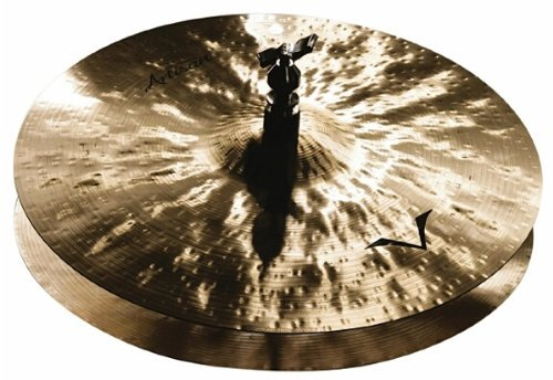 Sabian A1402B 14-Inch Vault Artisan Hi Hat Cymbals - Brilliant (Sabian Vault Hi Hat Cymbals)