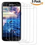 Galaxy J3 Screen Protector, (4 Packs) Alluremake for Samsung Galaxy J3/Galaxy J3 (2016) [Will NOT For J3 Prime/Emerge] Tempered Glass Screen Protector [Case Friendly]