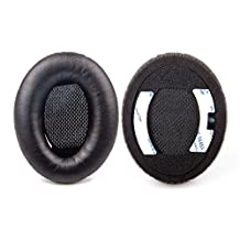 LANIAKEA Headphone Earpad,Ear pads Replacement for Bose QuietComfort QC 2 / QC 15 / QC 15 / QC 25 / AE2,1 Pair Packed,Memory Foam Covered by Protein Leather