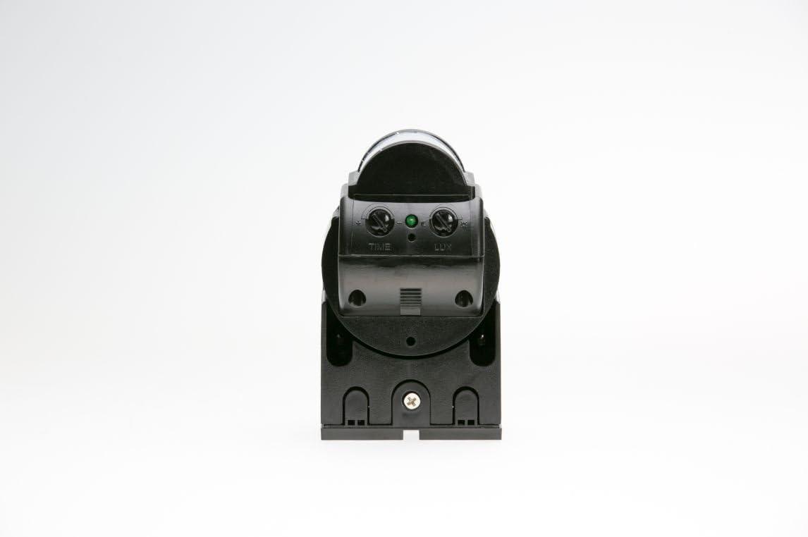 IP44 prot/ég/é contre les projections deau d/étecteur de mouvement infrarouge 180 /° r/églable horizontalement et verticalement HUBER MOTION 1 pour une utilisation int/érieure et ext/érieure