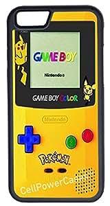 Super iPhone 6 Case, CellPowerCasesTM Pokemon Gameboy [Flex Series] -iPhone 6 (4.7) Case [iPhone 6 (4.7) V1 ]
