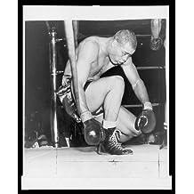 Photo: Joe Lewis Barrow,1914-81,Rocky Marciano,Madison Square