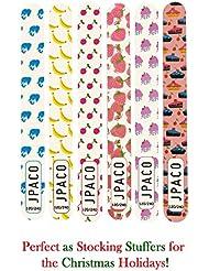 12 PCS Professional Cute Nail Files - 120/240 Grit Size...