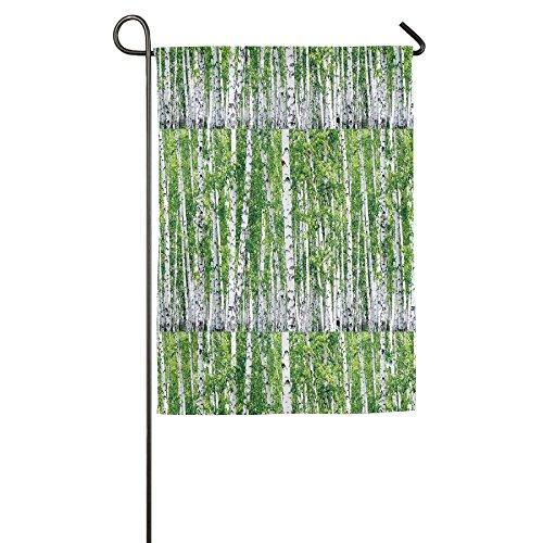Ojinwangji Fresh Green Leaves Summer Forest Rural Landscape Lush Environmental Image Yard Flag To Brighten Up Your Home
