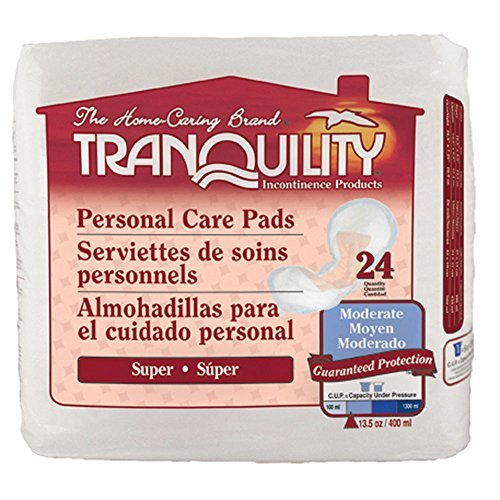 Tranquility 2380-Case Tranquility Super Personal Care Pad 96/case