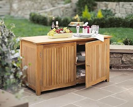 amazon com teakstation grade a teak wood outdoor patio garden rh amazon com