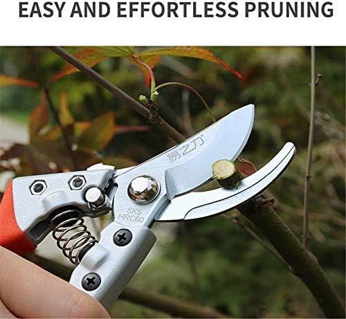 Pruning Shears,Pruner Saw, Pruners Garden Upmarket Teflon Coating Pruning Shear Branch Garden Anvil Pruner Potted