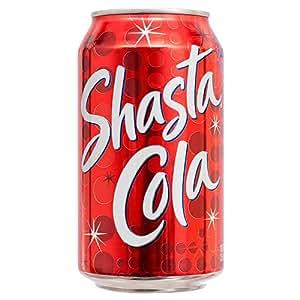 Amazon.com : New 365330 Shasta 12 Oz Cola (24-Pack) Bottle