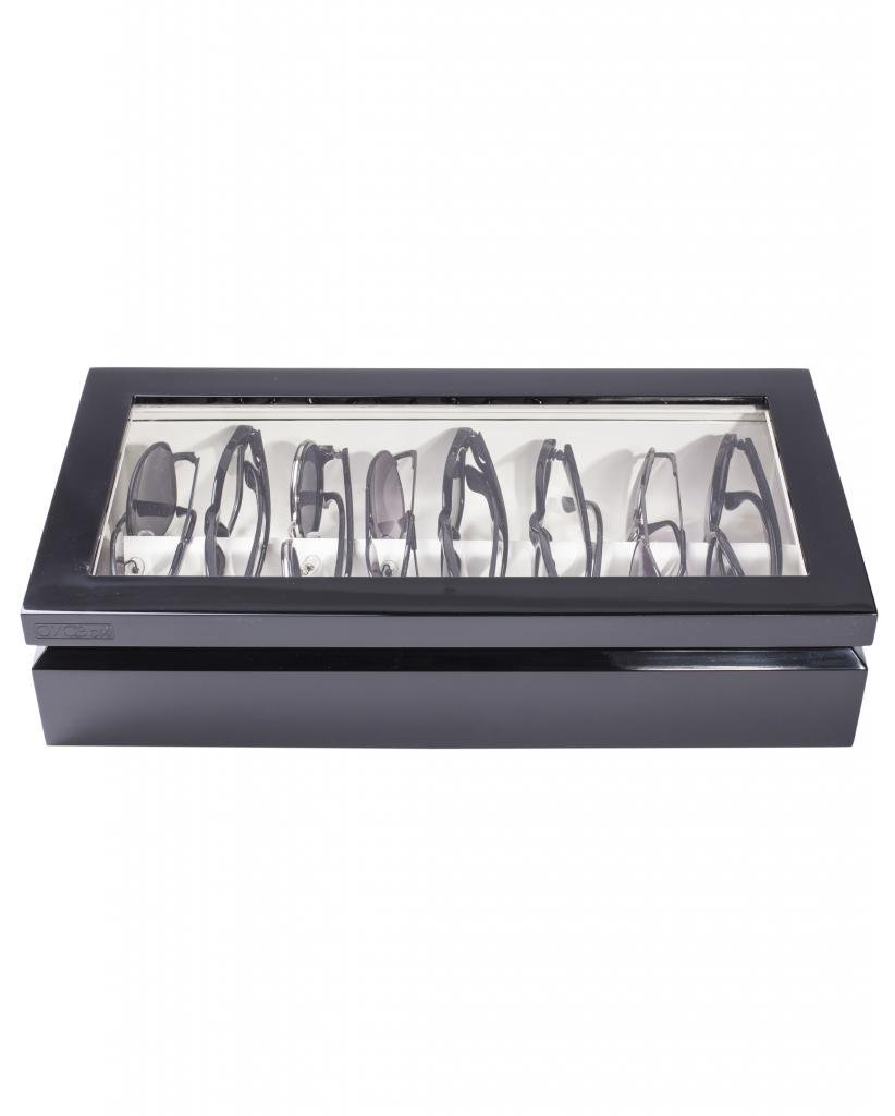 OYOBox Black Luxury Eyewear Organizer