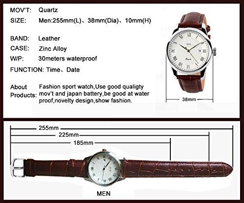 Review Mens Analog Quartz Wrist