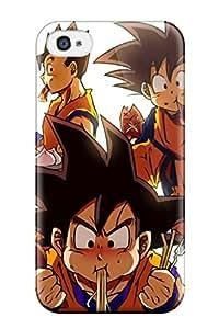 dragon ball z / goku Anime Pop Culture Hard Plastic iPhone 4/4s cases 8606182K212357100