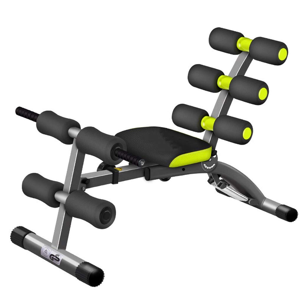 Keep fit Home Supine Board Sit-ups Abdomen Machine Supine Board Men and Women Multi-Function Abdomen Fitness Board Fitness by Queen Boutiques