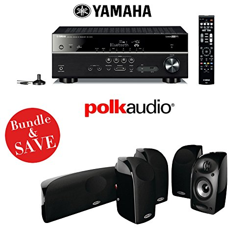Yamaha rx v579 7 2 channel networking home theater for Yamaha 7 2 home theatre system