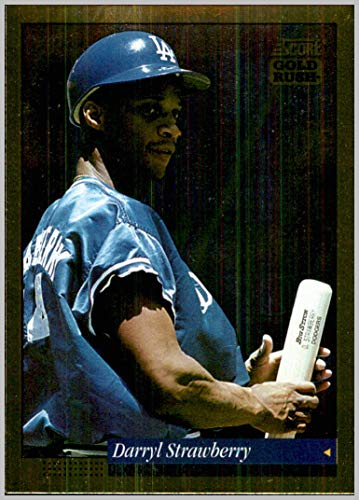 (1994 Score Gold Rush #428 Darryl Strawberry LOS ANGELES DODGERS)