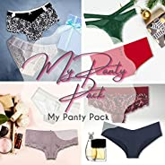 My Panty Pack | Women's Panties Monthly Subscription | 2 Pairs of Cute Sexy and Comfortable Underwear | Hipste