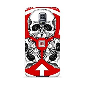 Samsung Galaxy S5 IpT5938GtHW Support Personal Customs Colorful 30 Seconds To Mars Band 3STM Pattern Excellent Cell-phone Hard Covers -SherriFakhry