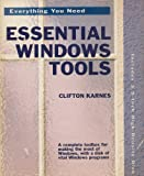 img - for Essential Windows Tools: Everything You Need/Book and Disk book / textbook / text book