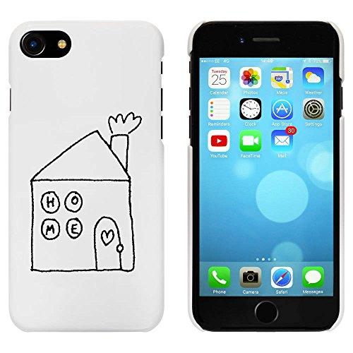 Blanc 'Accueil' étui / housse pour iPhone 7 (MC00064598)