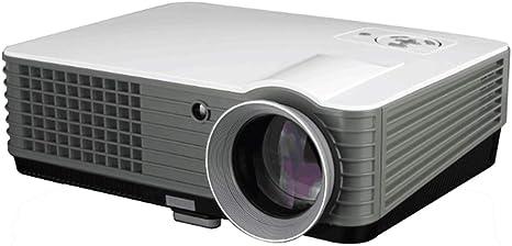 LMM Cine y Entretenimiento de TV proyector casero, Brillante Color de la Pantalla Grande HD, Ayuda en línea Juego de la película de Red, Compatible con HDMI VGA AV: Amazon.es: Deportes y