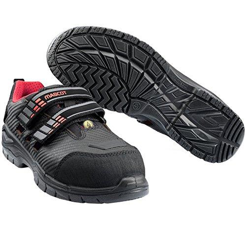 Mascot F0106-906-0902-838 Eagle Lady Safety Shoe, W8/38, Black