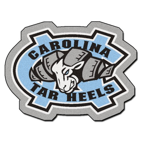 Chapel Hill Rug - FANMATS NCAA UNC University of North Carolina - Chapel Hill Tar Heels Nylon Face Mascot Rug