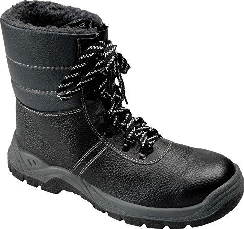 Atado A Com Botas 38 Couro Inverno 38 48 Tamanho Revestimento S3 De Sapatos De Pilha Segurança Gr dHYY0q