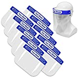 Safety Face Shield, All-Round Protection Cap with