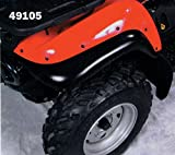 mud flaps for atv - Maier USA Front MUD Flap Extensions KAWASKAI ATV Black