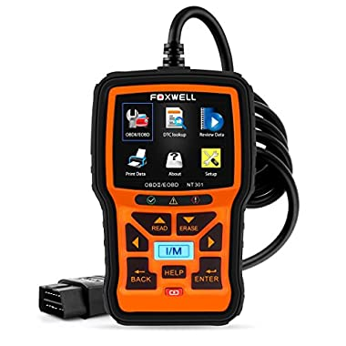 FOXWELL Nt301 Obd2 Code Scanner Universal Car Engine Diagnostic Tool Automotive Fault Code Reader CAN Obd II Eobd Scan Tool