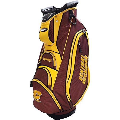 Team Golf NEW Central Michigan University Victory Cart Bag 10-way Top CMU ()
