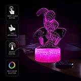 Spiderman Night Light for Kids, XXMANX 3D Illusion