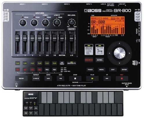 BOSS BR-800 【KORG nano KEY カラー:ブラック セット】 B0040A7ES2  ブラック セット
