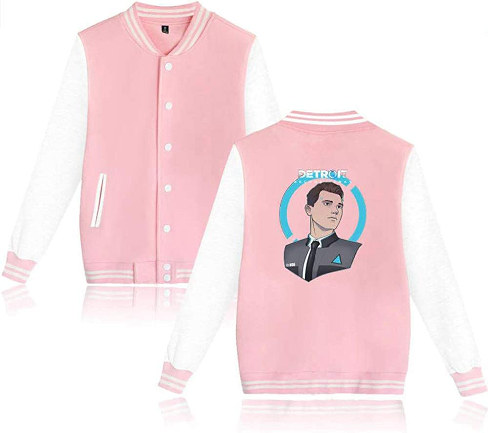 Become Human Fation Casual and Daily wear Detroit Pink 3 XXS biaohe Detroit
