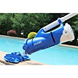 Ultra Rechargeable Battery Powered Pool and Spa Vacuum with Segmented Pole Set