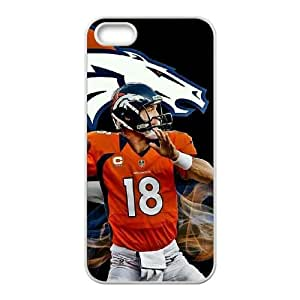 Denver Broncos iPhone 5 5s Cell Phone Case White persent zhm004_8508133